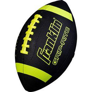 Franklin Sports Black Junior Grip-Rite Football