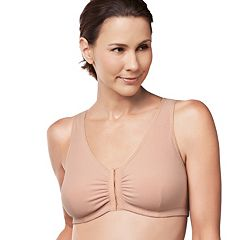 Amoena Bra: Frances Front-Closure Wire-Free Bra 2128 - Women's