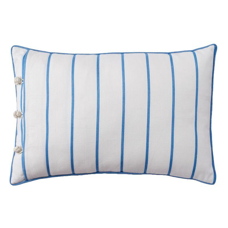 Chaps Mandarin Garden Striped Throw Pillow