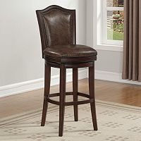 American Heritage Billiards Jordan Swivel Bar Stool