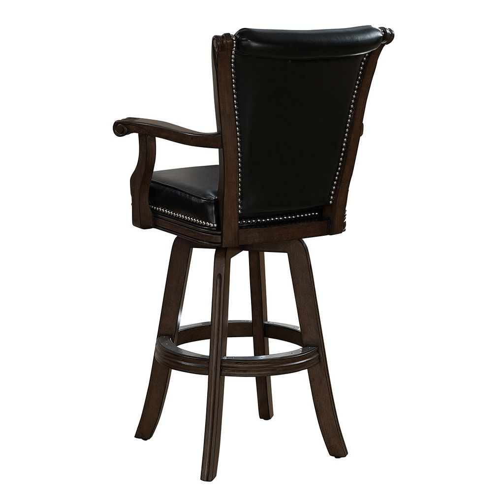 American Heritage Billiards Napoli Swivel Bar Stool