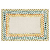 Liora Manne Capri Ethnic Border Indoor Outdoor Rug