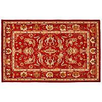 Trans Ocean Imports Liora Manne Petra Konya Framed Floral Wool Rug