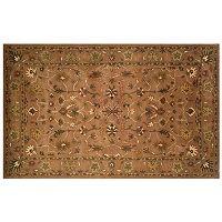 Trans Ocean Imports Liora Manne Petra Oushak Framed Floral Wool Rug