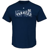 Men's Majestic New York Yankees Last Rally Tee