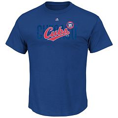 Men's Majestic Chicago Cubs Last Rally Tee