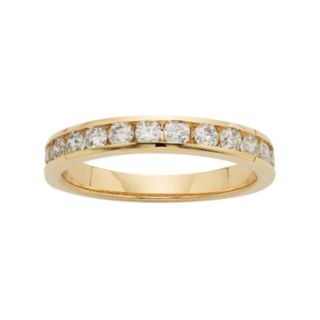 14k Gold 3/4 Carat T.W. Diamond Anniversary Ring