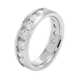 14k Gold 2 Carat T.W. Diamond Anniversary Ring