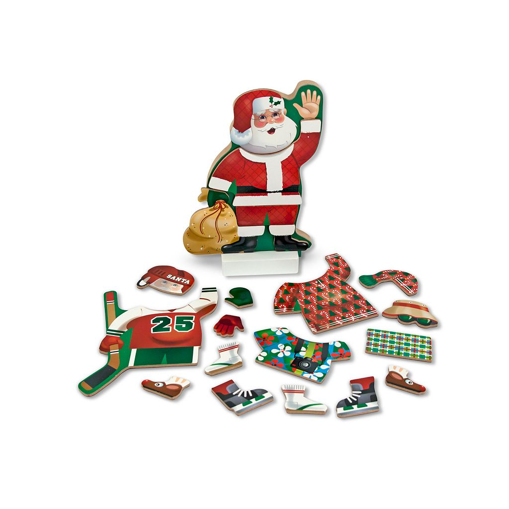 Melissa & Doug Santa Claus Magnetic Dress-Up Set