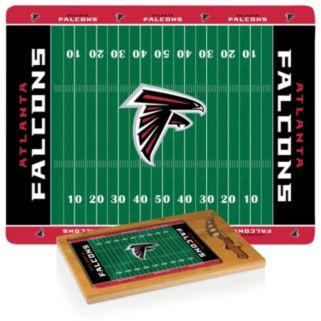 Picnic Time Atlanta Falcons Cutting Board Serving Tray