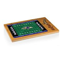 Picnic Time Baltimore Ravens Cutting Board Serving Tray