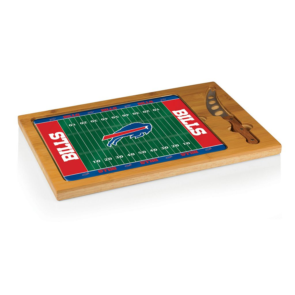 Picnic Time Buffalo Bills Cutting Board Serving Tray