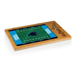 Picnic Time Carolina Panthers Cutting Board Serving Tray