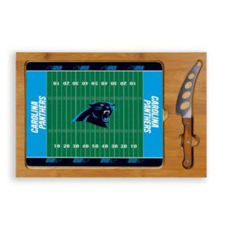 Picnic Time Carolina Panthers Cutting Board Serving Tray