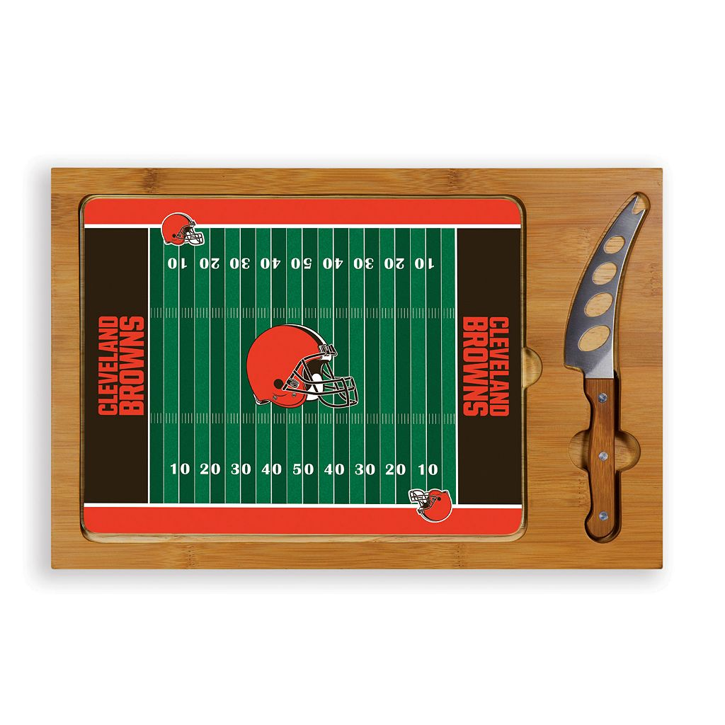 Picnic Time Cleveland Browns Cutting Board Serving Tray