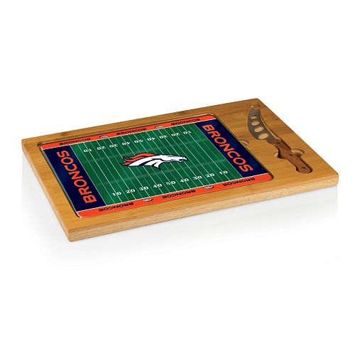 Picnic Time Denver Broncos Cutting Board Serving Tray