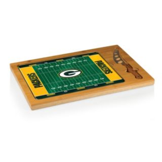 Picnic Time Green Bay Packers Cutting Board Serving Tray