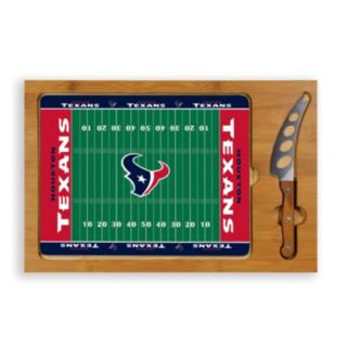 Picnic Time Houston Texans Cutting Board Serving Tray