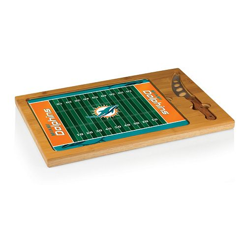 Picnic Time Miami Dolphins Cutting Board Serving Tray