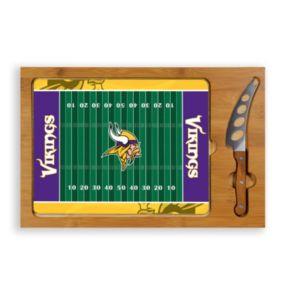 Picnic Time Minnesota Vikings Cutting Board Serving Tray