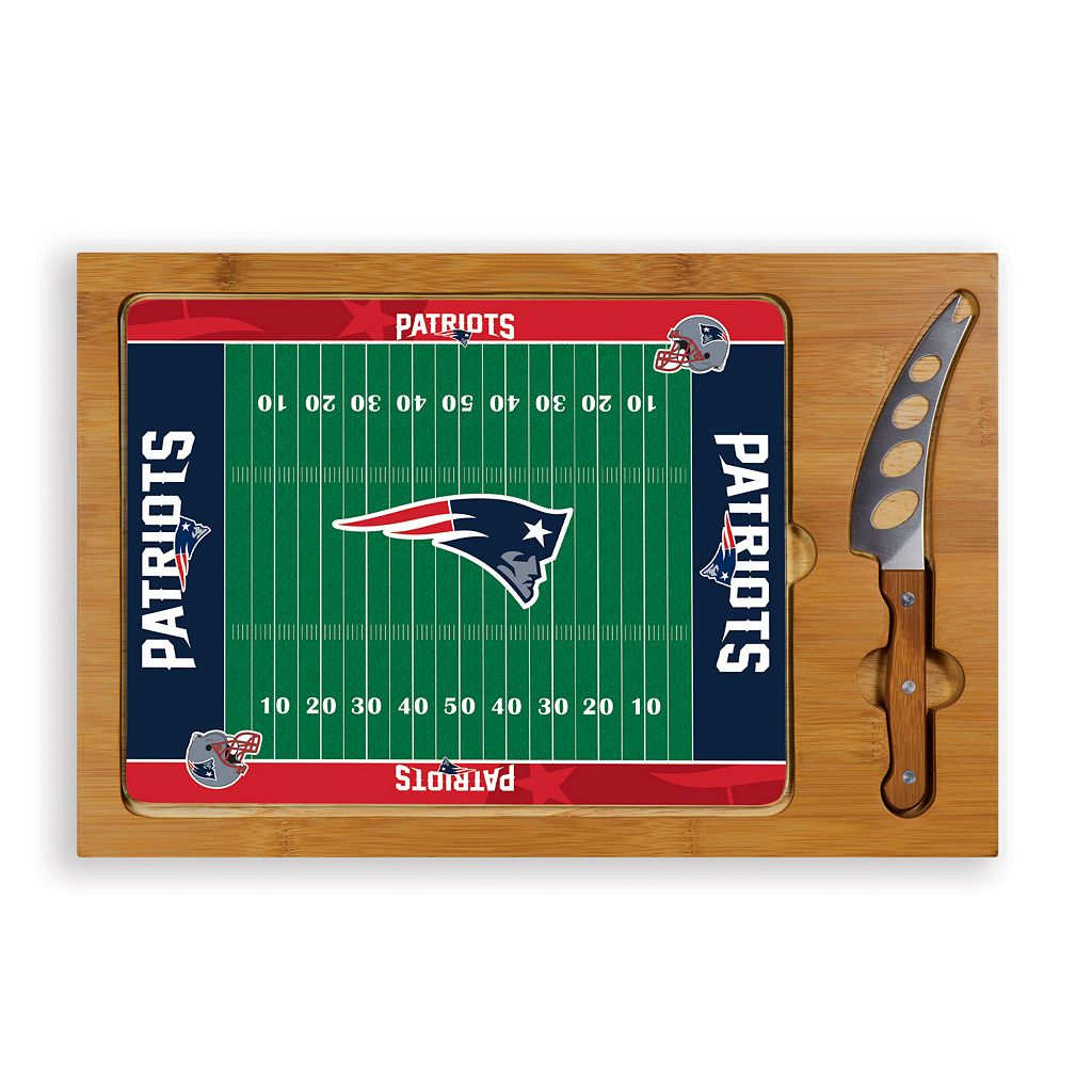 Picnic Time New England Patriots Cutting Board Serving Tray