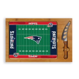 Picnic Time New EnglandPatriots Cutting Board Serving Tray