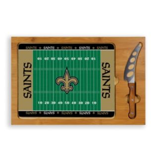 Picnic Time New Orleans Saints Cutting Board Serving Tray