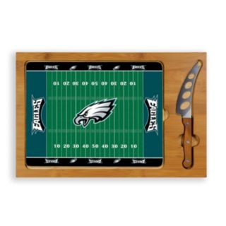 Picnic Time Philadelphia Eagles Cutting Board Serving Tray