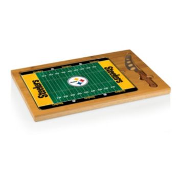 Picnic Time Pittsburgh Steelers Cutting Board Serving Tray
