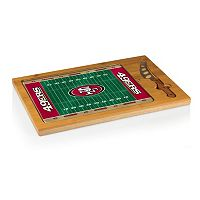 Picnic Time San Francisco 49ers Cutting Board Serving Tray