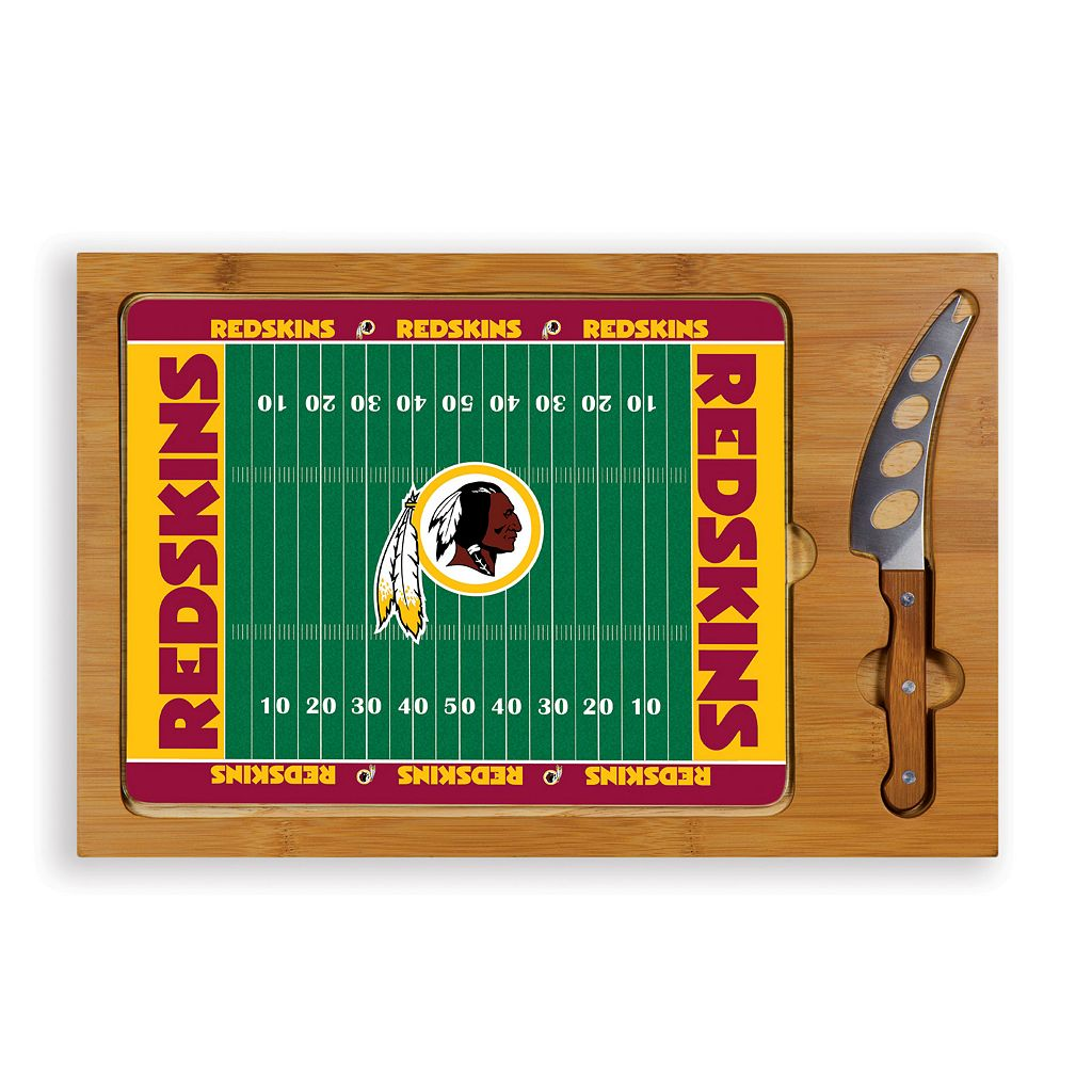 Picnic Time Washington Redskins Cutting Board Serving Tray