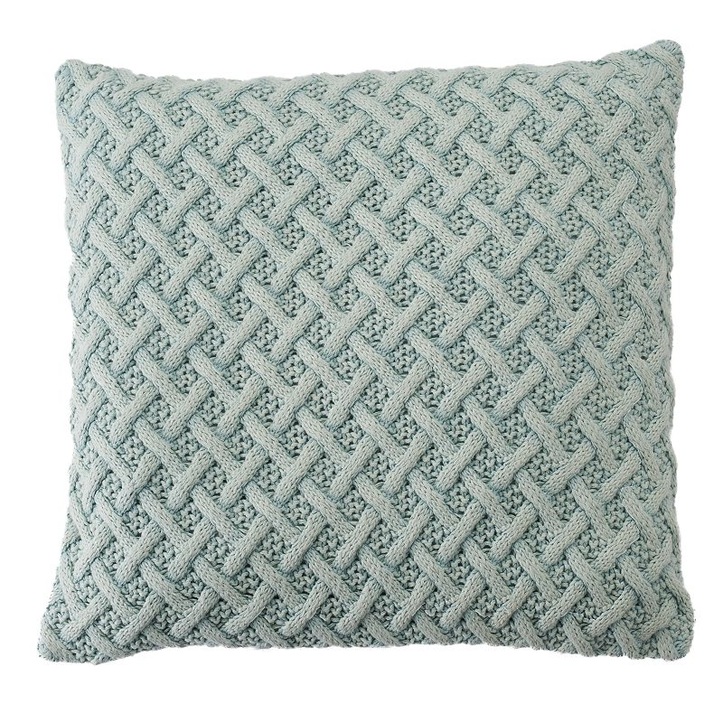 Chaps The Springs Basketweave Throw Pillow