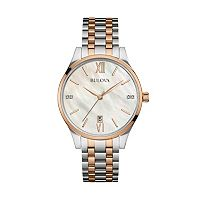Bulova Women's Maiden Lane Diamond Stainless Steel Watch
