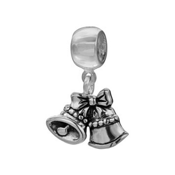 Individuality Beads Sterling Silver Bells Charm