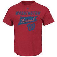 Men's Majestic Washington Nationals Again Next Year Tee