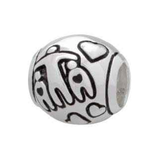 "Individuality Beads Sterling Silver ""Family Love"" Bead"