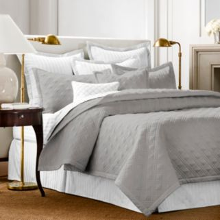 Chaps Damask Quilted Coverlet Set