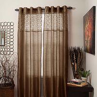 Portsmouth Home Sonya Sheer Window Curtains