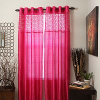 Portsmouth Home Sonya Sheer Curtains