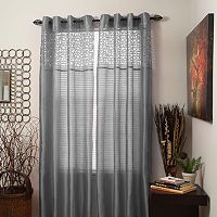 Portsmouth Home Sonya Sheer 2-pack Window Curtains