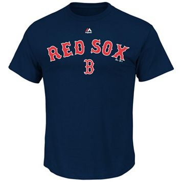 Men's Majestic Boston Red Sox Series Sweep Tee
