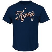 Men's Majestic Detroit Tigers Series Sweep Tee