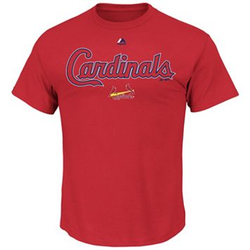 Men's Majestic St. Louis Cardinals Series Sweep Tee