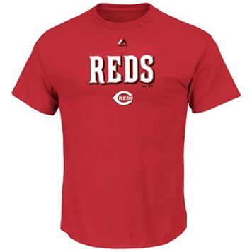 Men's Majestic Cincinnati Reds Series Sweep Tee