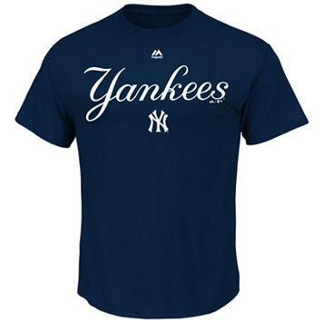 Men's Majestic New York Yankees Series Sweep Tee