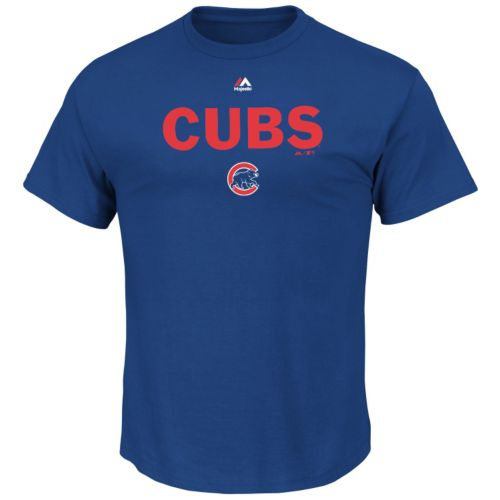 Men's Majestic Chicago Cubs Series Sweep Tee