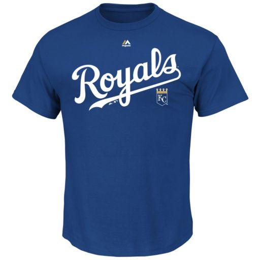 Men's Majestic Kansas City Royals Series Sweep Tee