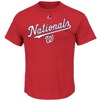 Men's Majestic Washington Nationals Series Sweep Tee