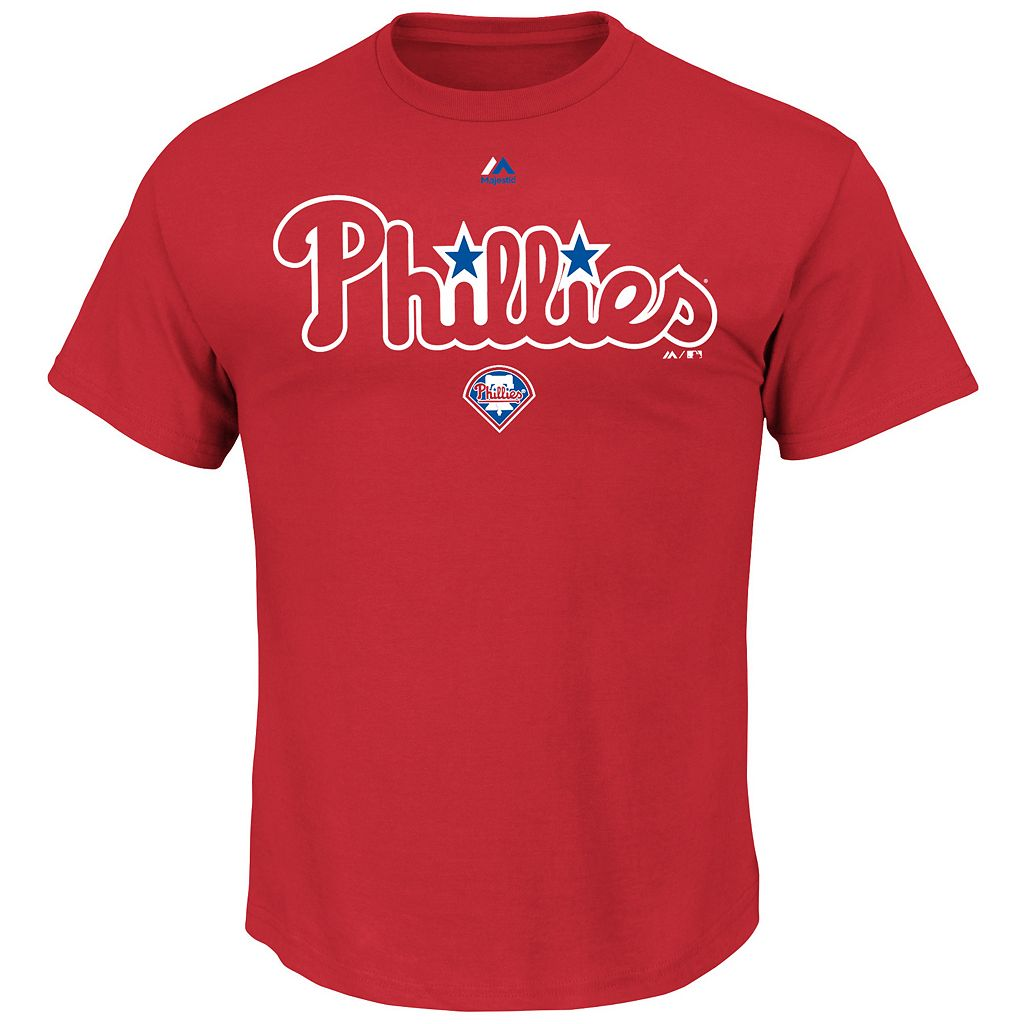 Men's Majestic Philadelphia Phillies Series Sweep Tee