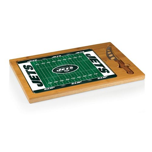 Picnic Time New York Jets Cutting Board Serving Tray